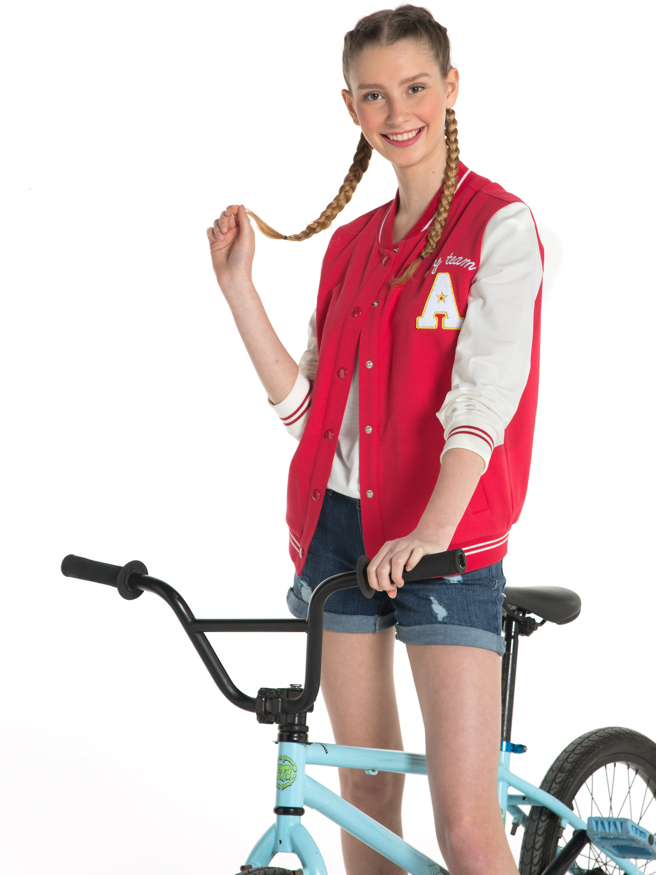 RED - Cardigan Track Top - 7YI736Z8