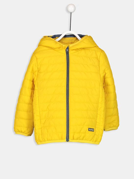 Yellow - Short Coat - 8W1237Z1