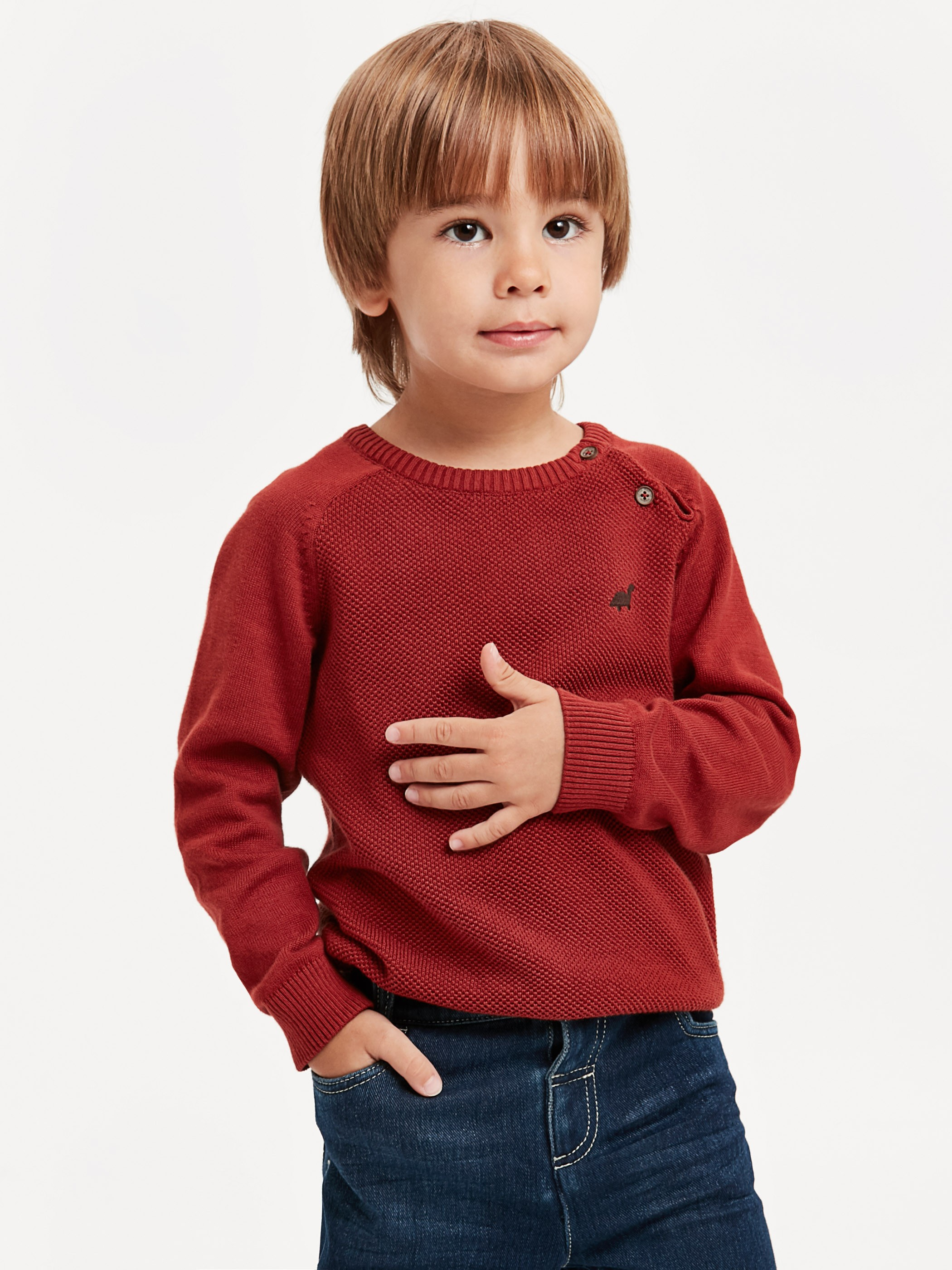 BROWN - Jumper - 8W1258Z1
