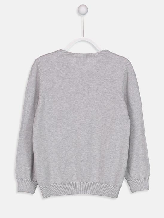 Grey - Jumper - 8W0179Z4