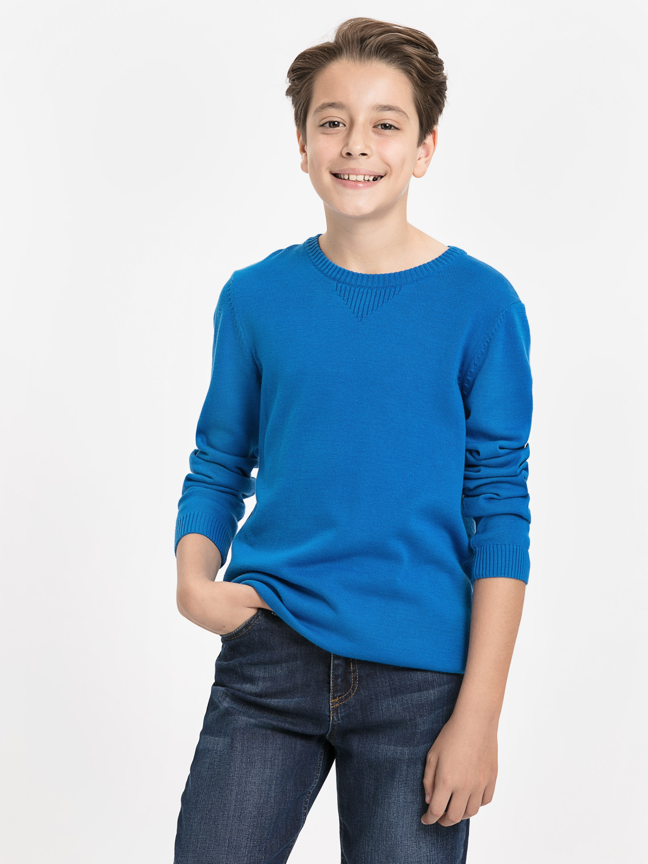Blue - Jumper - 8W0184Z4