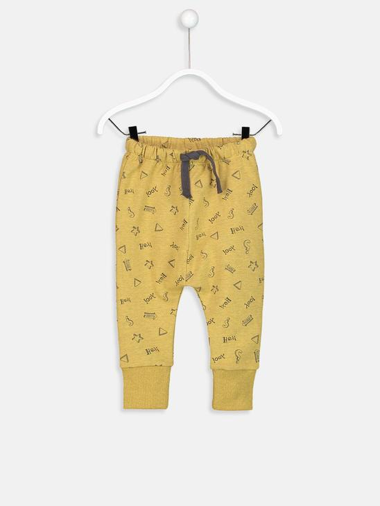 Yellow - Trousers - 8W0854Z1