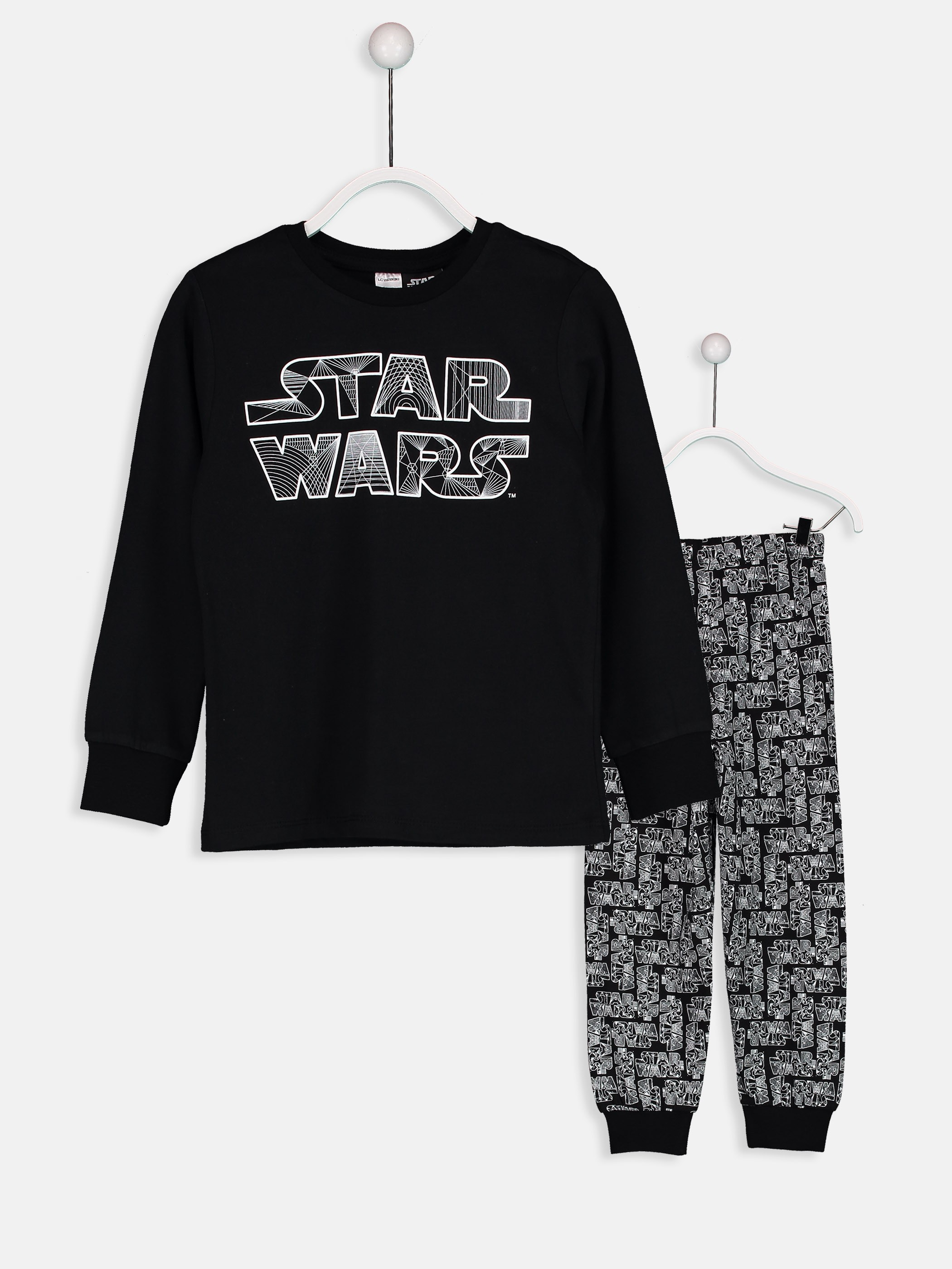 BLACK - Pyjamas Set - 8W5589Z4
