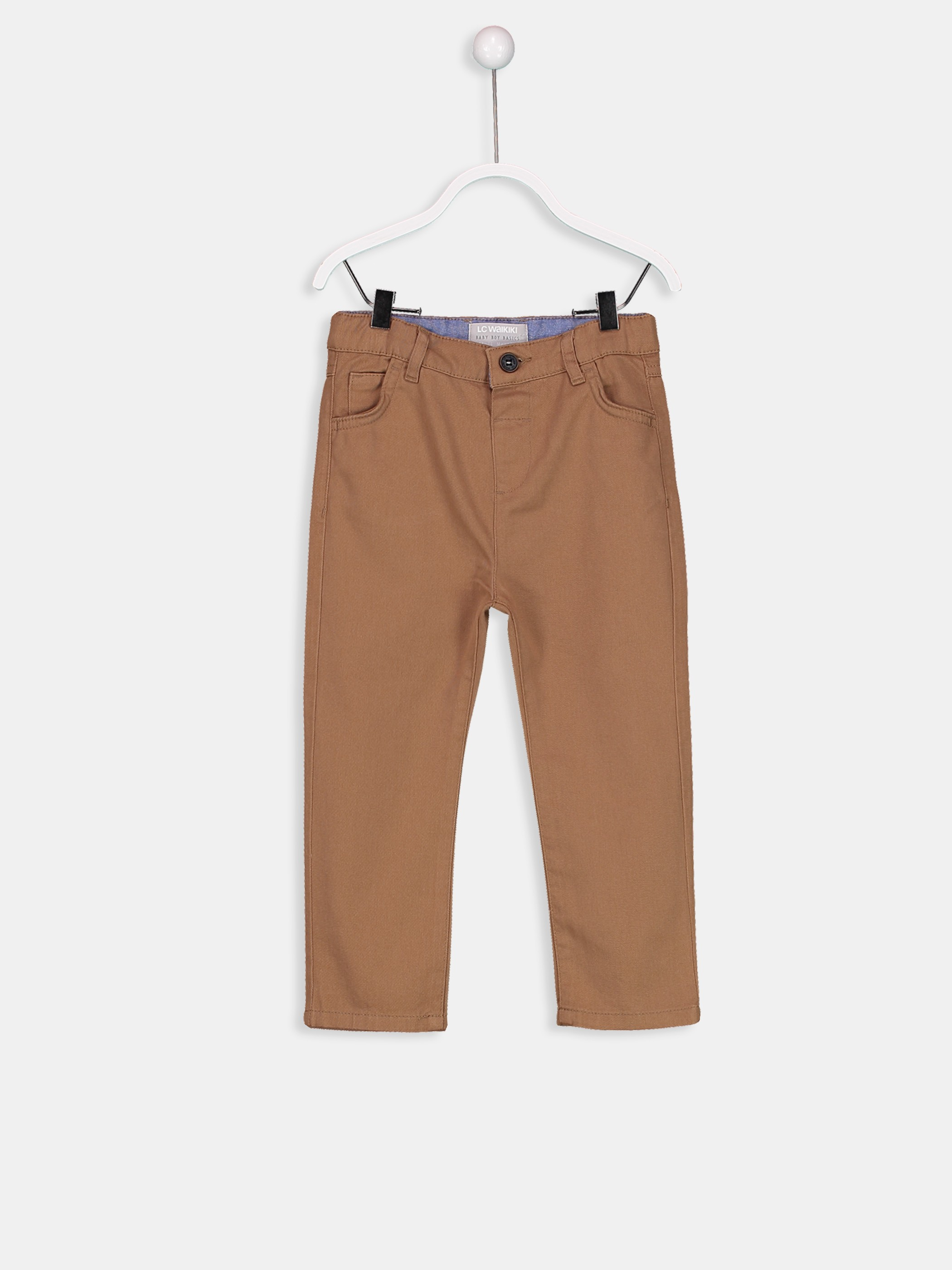 BROWN - Trousers - 8W0148Z1