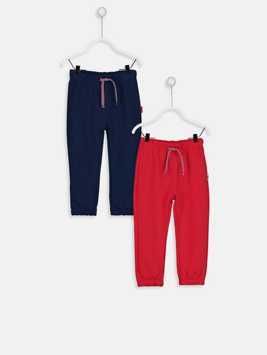 RED - 2-pack Baby Boy's Sweatpants - 8W0540Z1