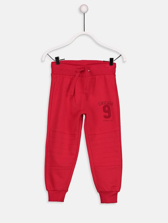 Red - Trousers - 8W0166Z4