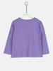 Purple - T-Shirt - 8WH027Z1