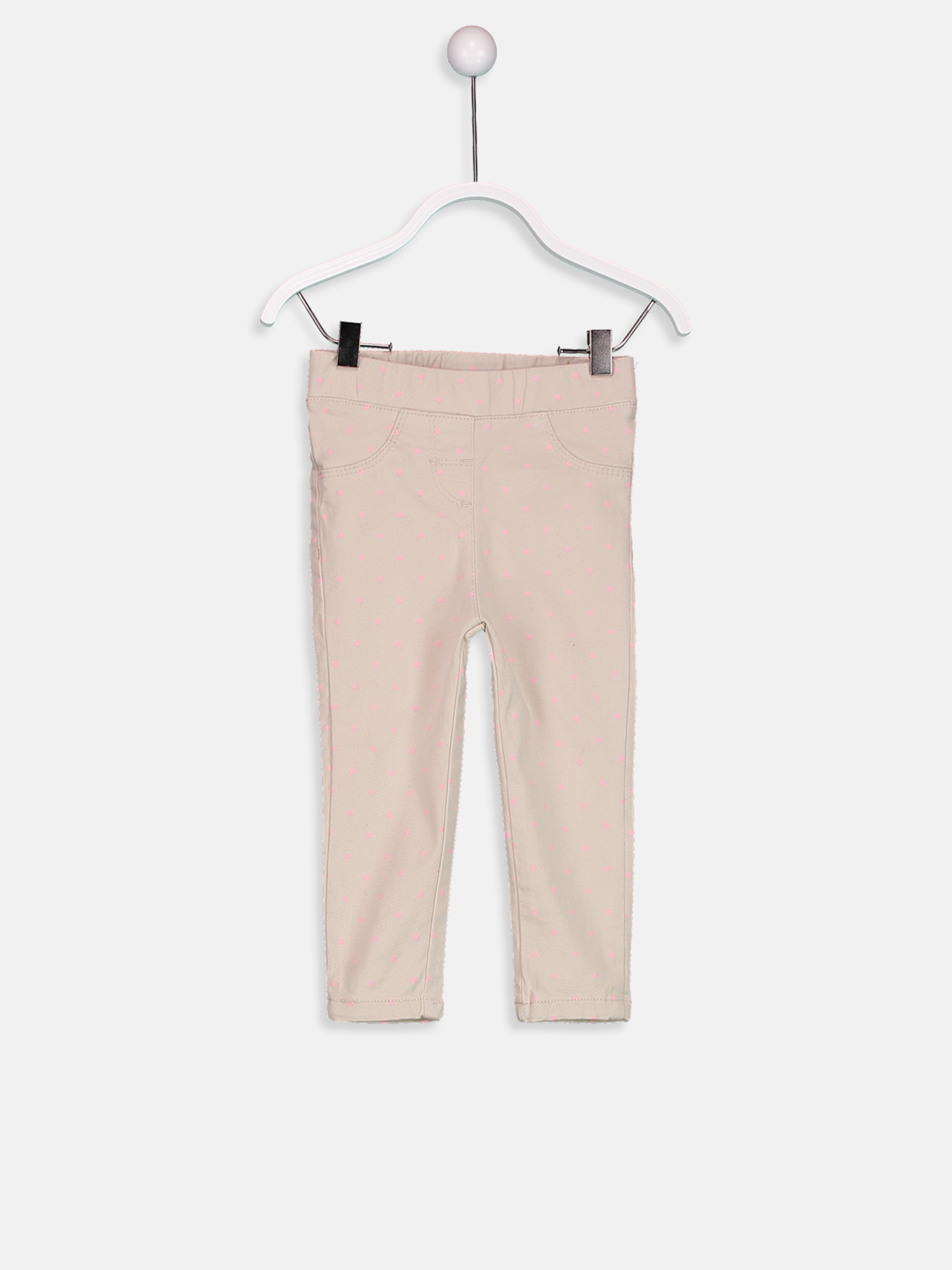 Beige - Trousers - 8W3813Z1