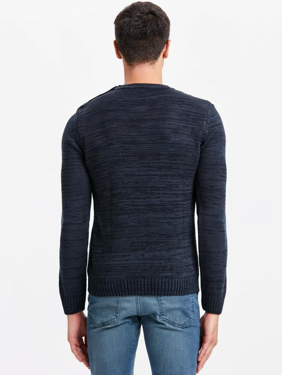 Navy - Jumper - 8W4711Z8