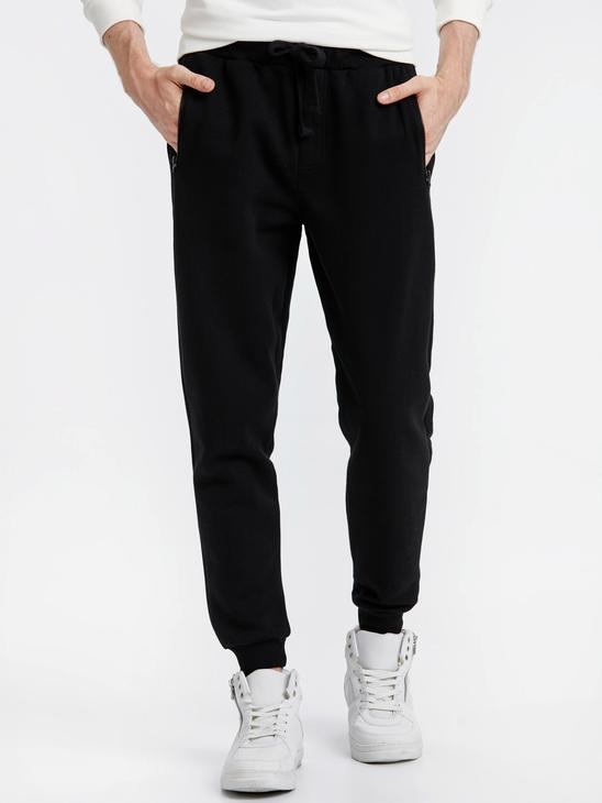 BLACK - Sweatpants - 8W5760Z8