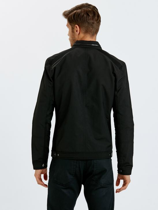 Black - Short Coat - 8W1402Z8