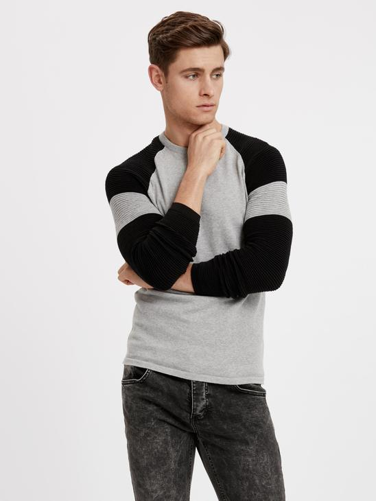 GREY - Jumper - 8W8685Z8