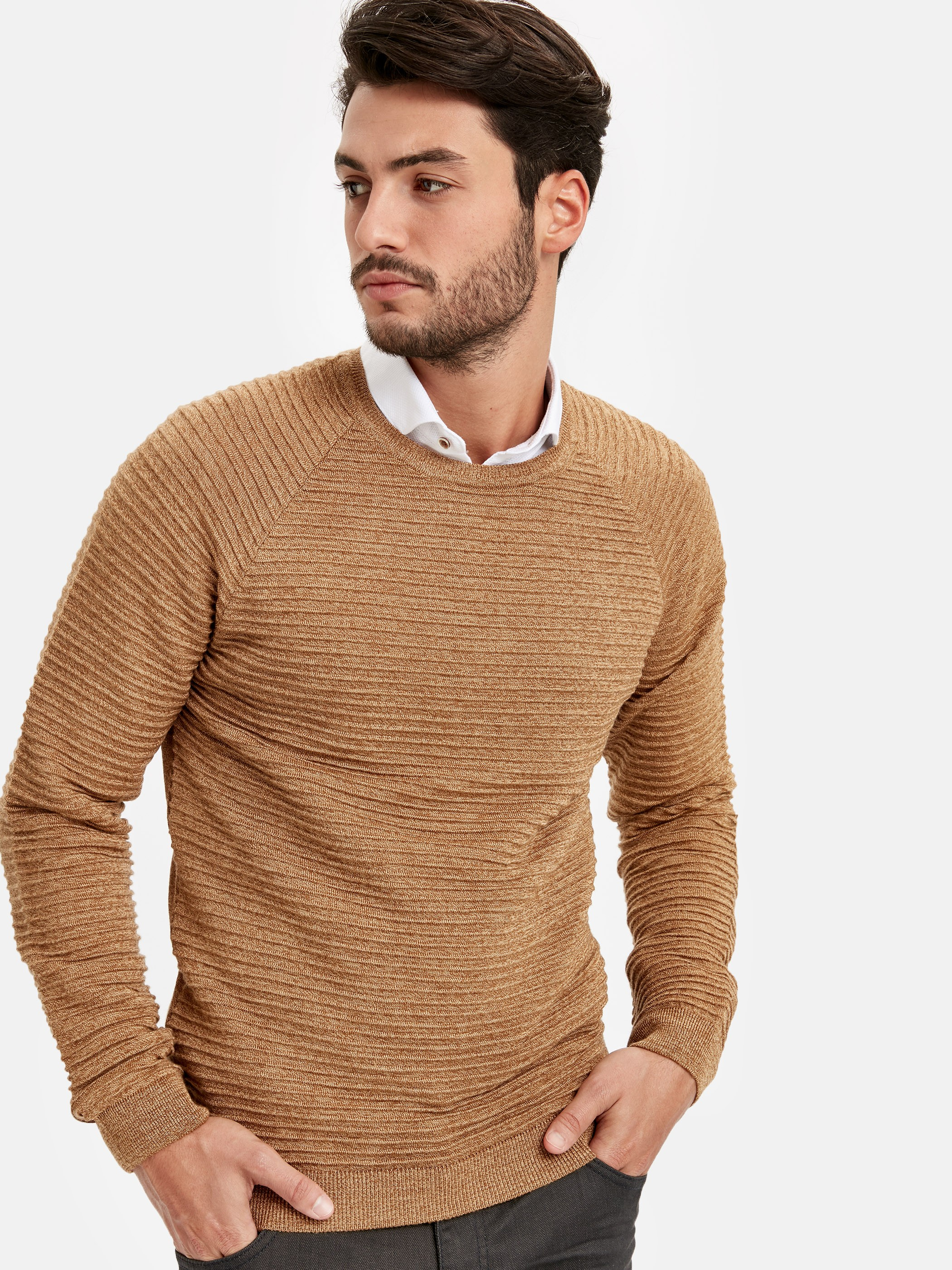 Yellow - Jumper - 8W7351Z8
