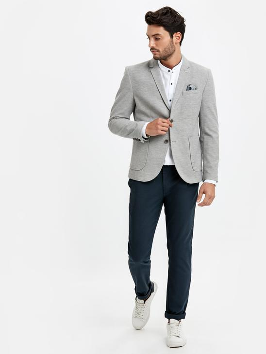 GREY - Blazer Jacket - 8WG415Z8