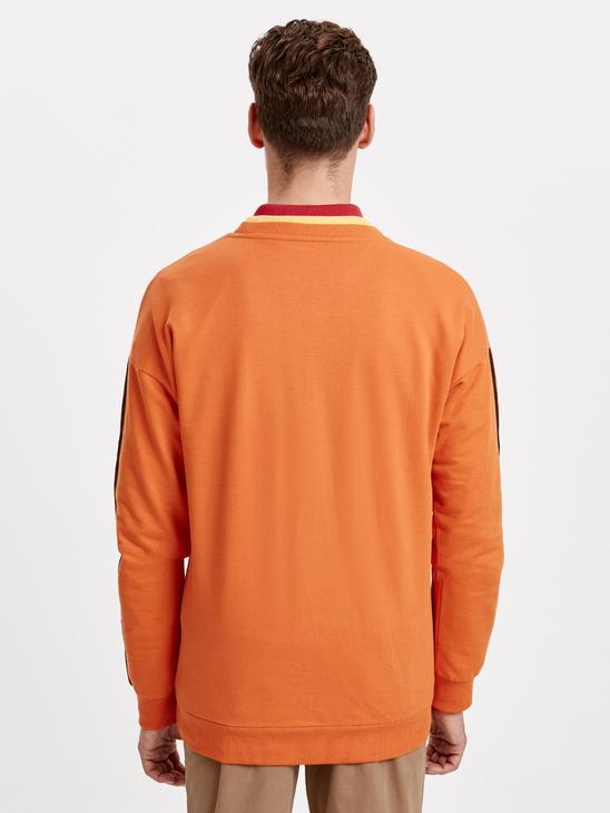 Orange - T-Shirt - 8WG181Z8