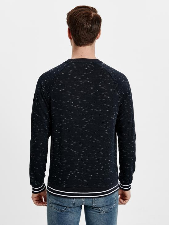 Navy - Sweatshirt - 8W6216Z8