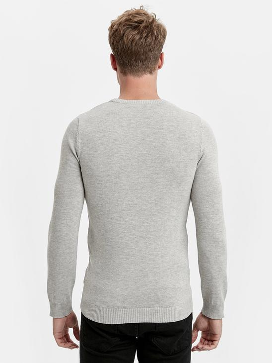 Grey - Jumper - 8W8952Z8