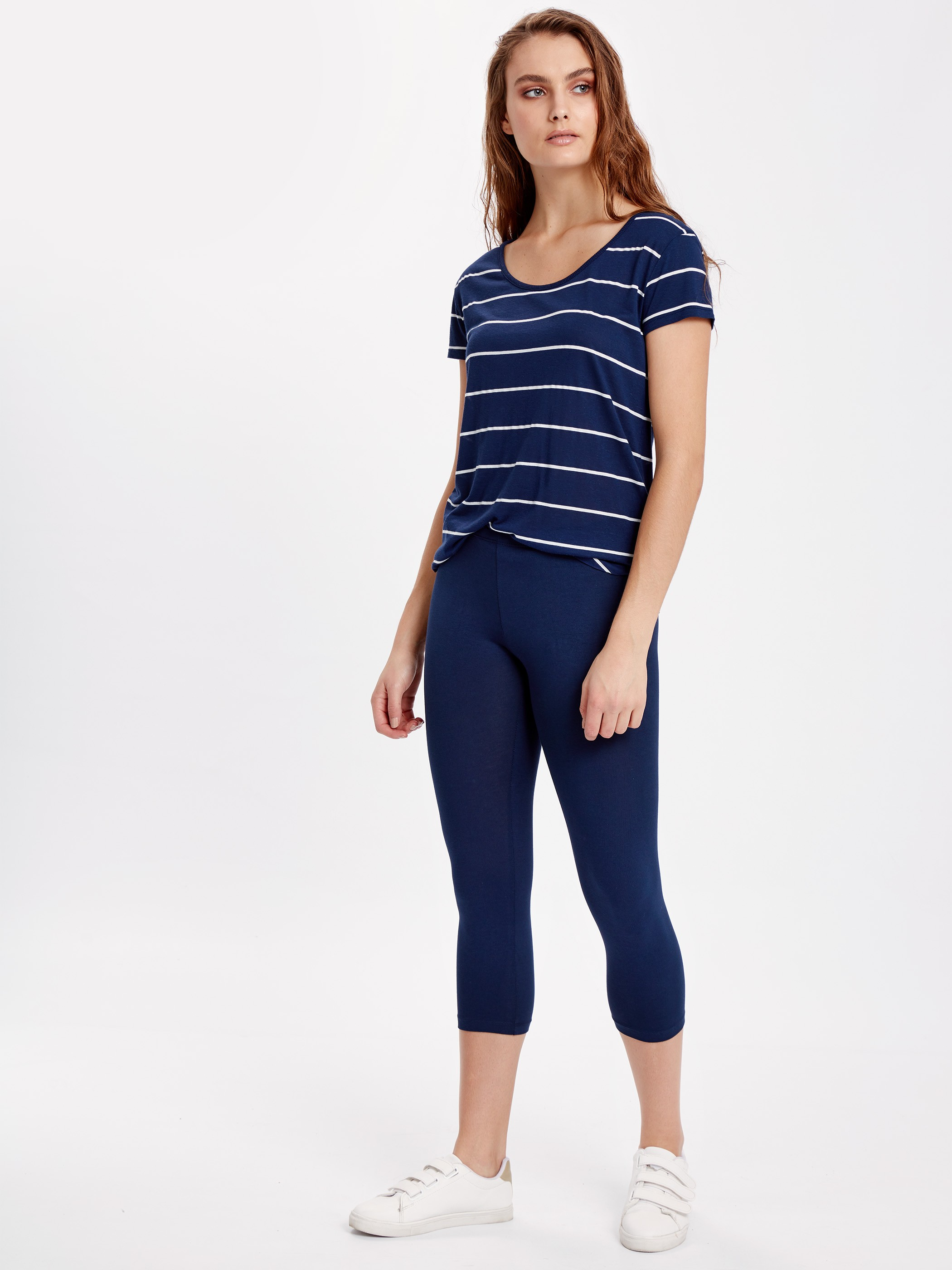 Navy - Leggings - 8S4806Z8