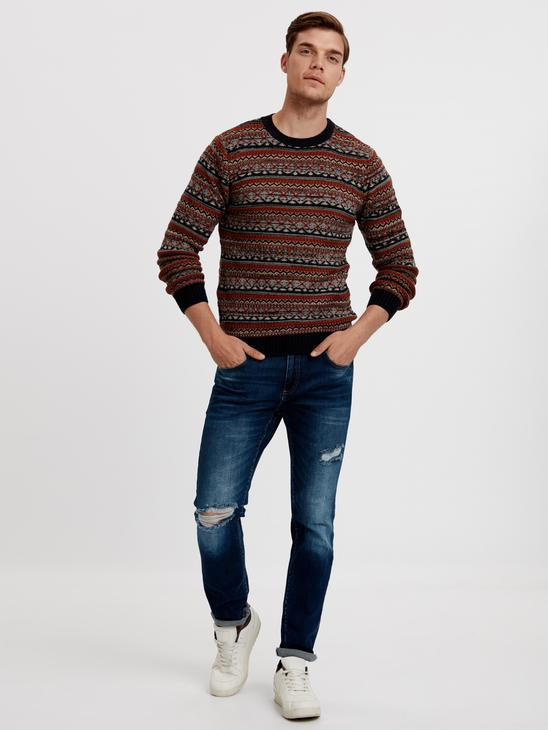 BROWN - Jumper - 8W4614Z8