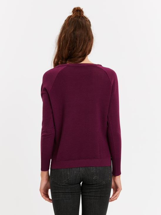 PURPLE - Plain Lightweight Jumper - 8W4394Z8