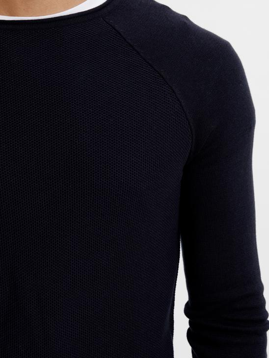 Navy - Jumper - 8W0383Z8