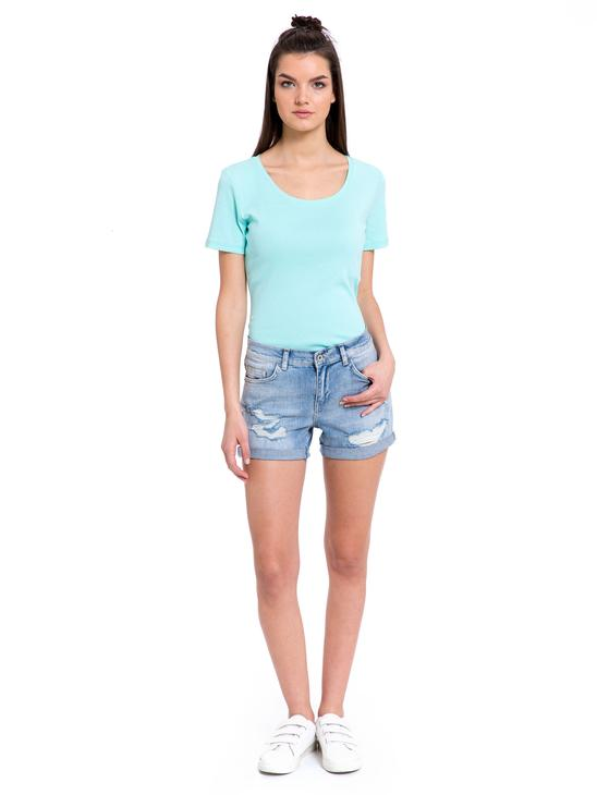 Turquoise - T-Shirt - 8S1684Z8