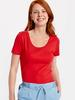 Red - T-Shirt - 8S1684Z8