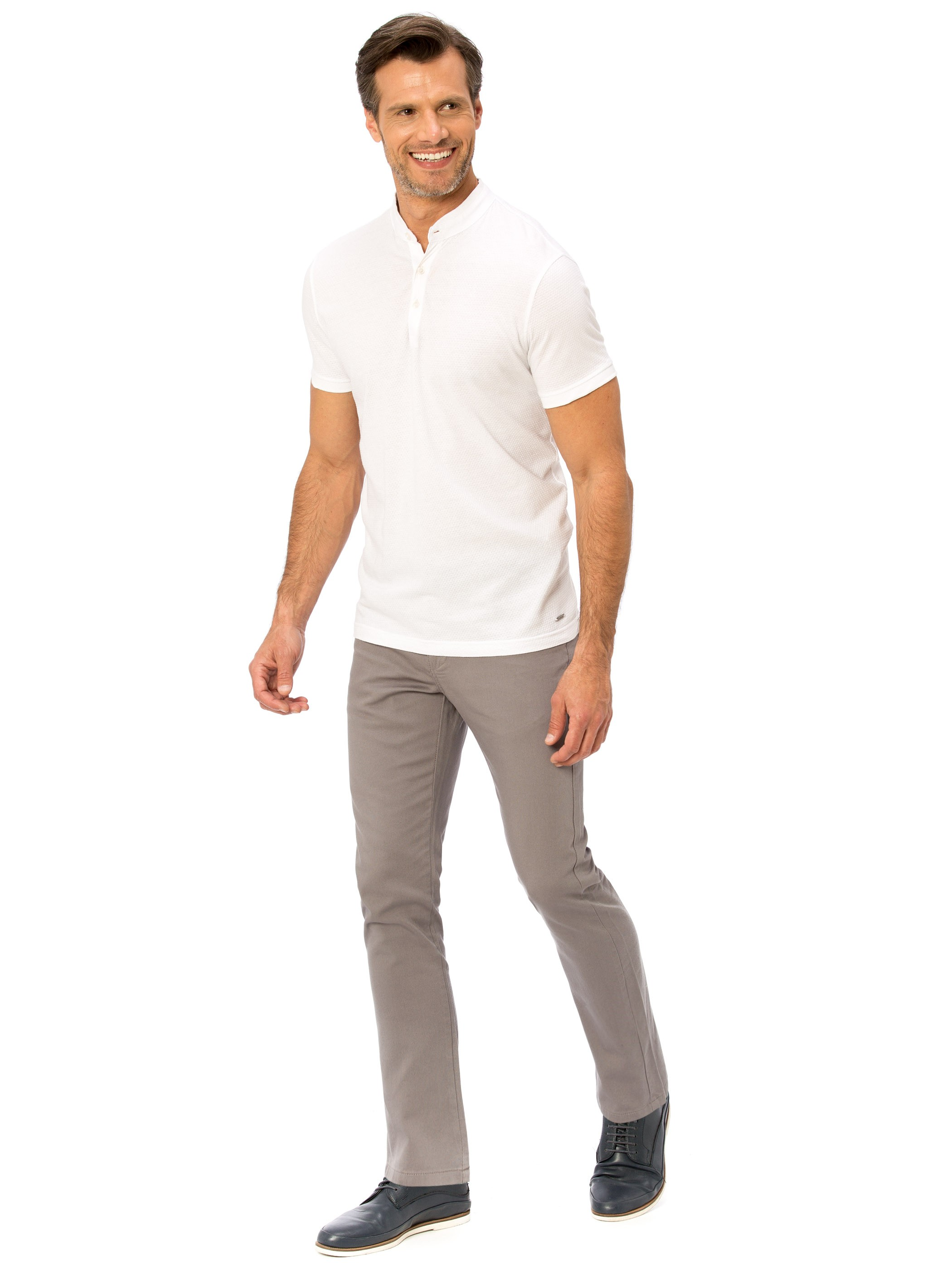 Grey - Trousers - 8S1446Z8