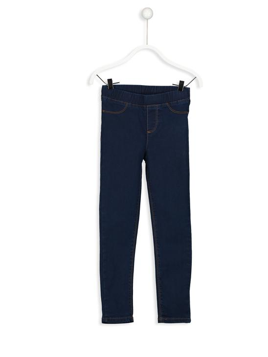 BLUE - Girl's Super Skinny Jeans - 8W0238Z4