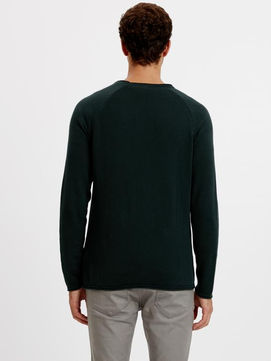Green - Jumper - 8W0383Z8