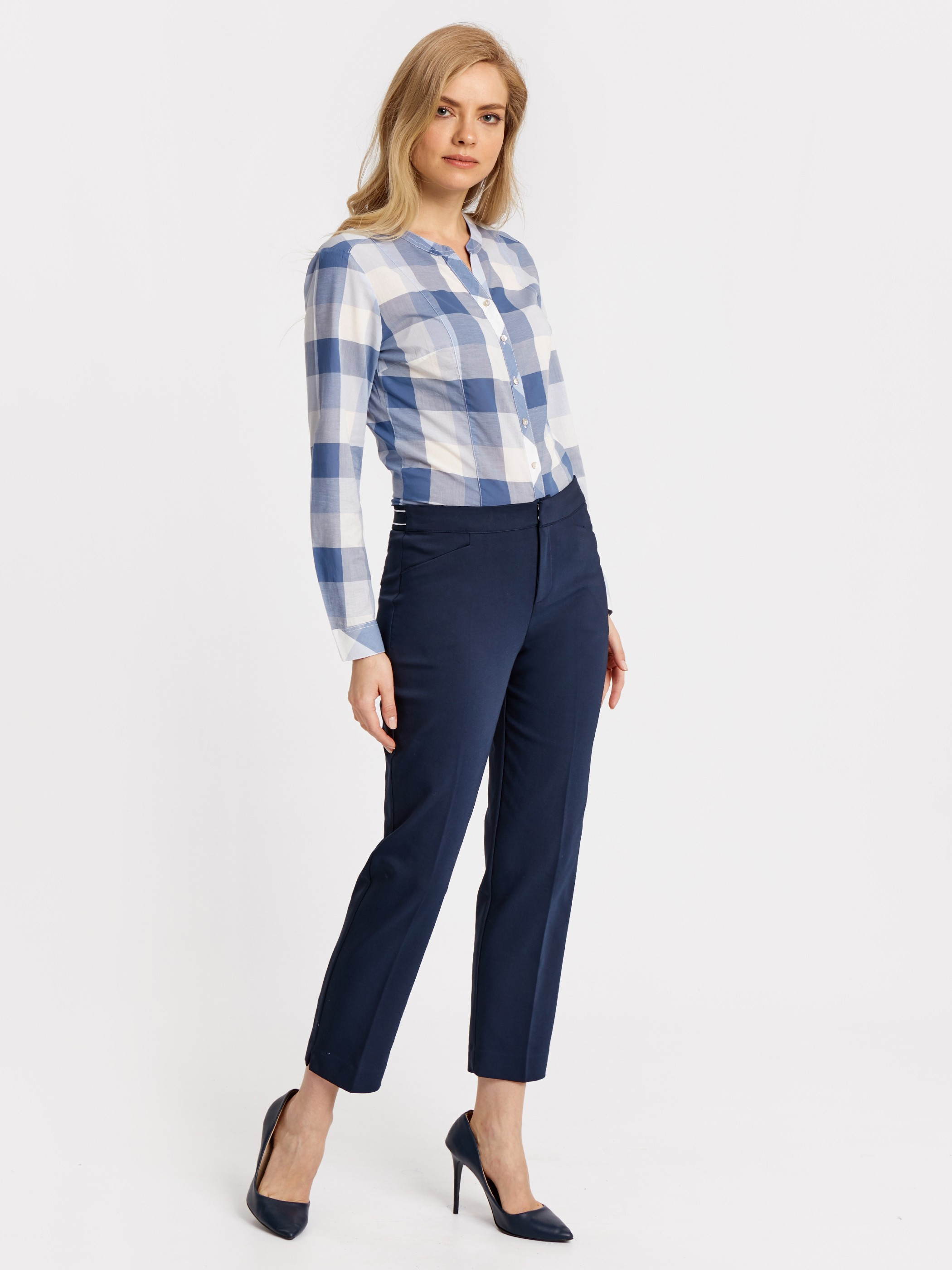 Navy - Trousers - 8W4389Z8