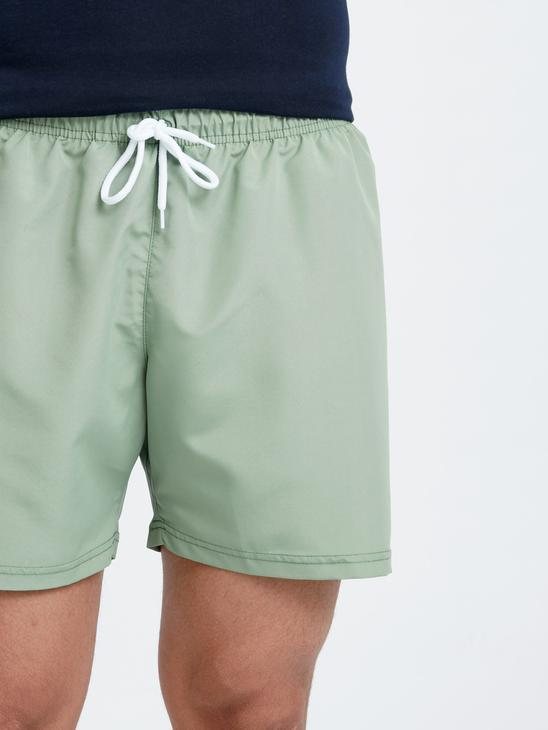 GREEN - Basic Short Swim Trunk - 8SH054Z8