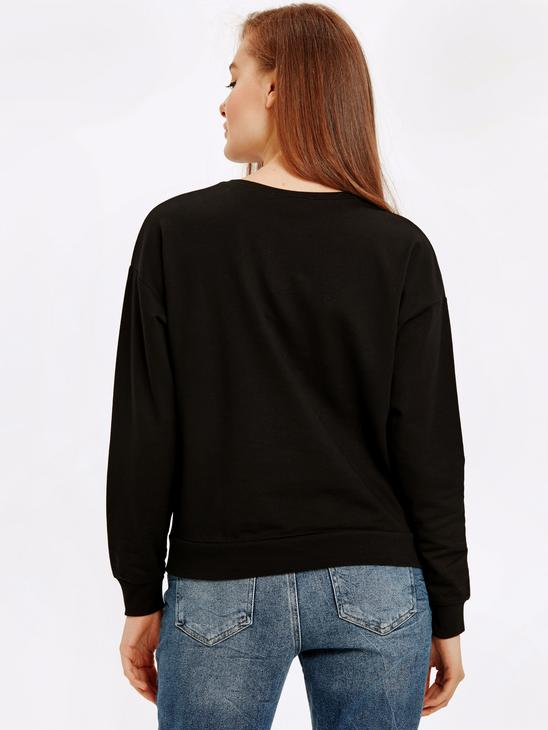 BLACK - Sweatshirt - 8W9494Z8