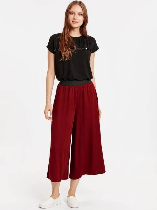 RED - Overlay Pants - 8WG714Z8