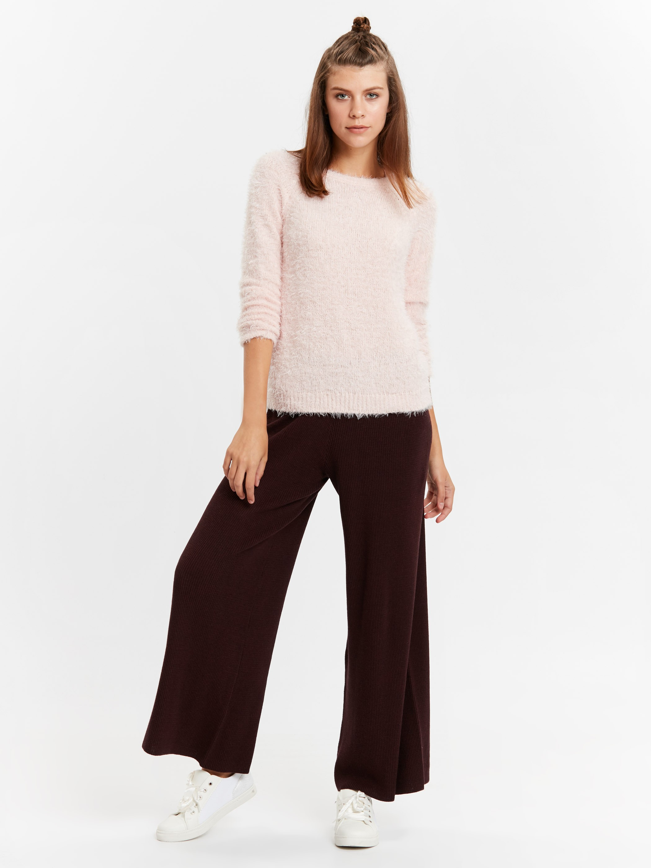 Maroon - Trousers - 8W3603Z8