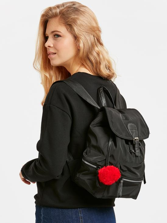 BLACK - Back Pack - 8W8729Z8