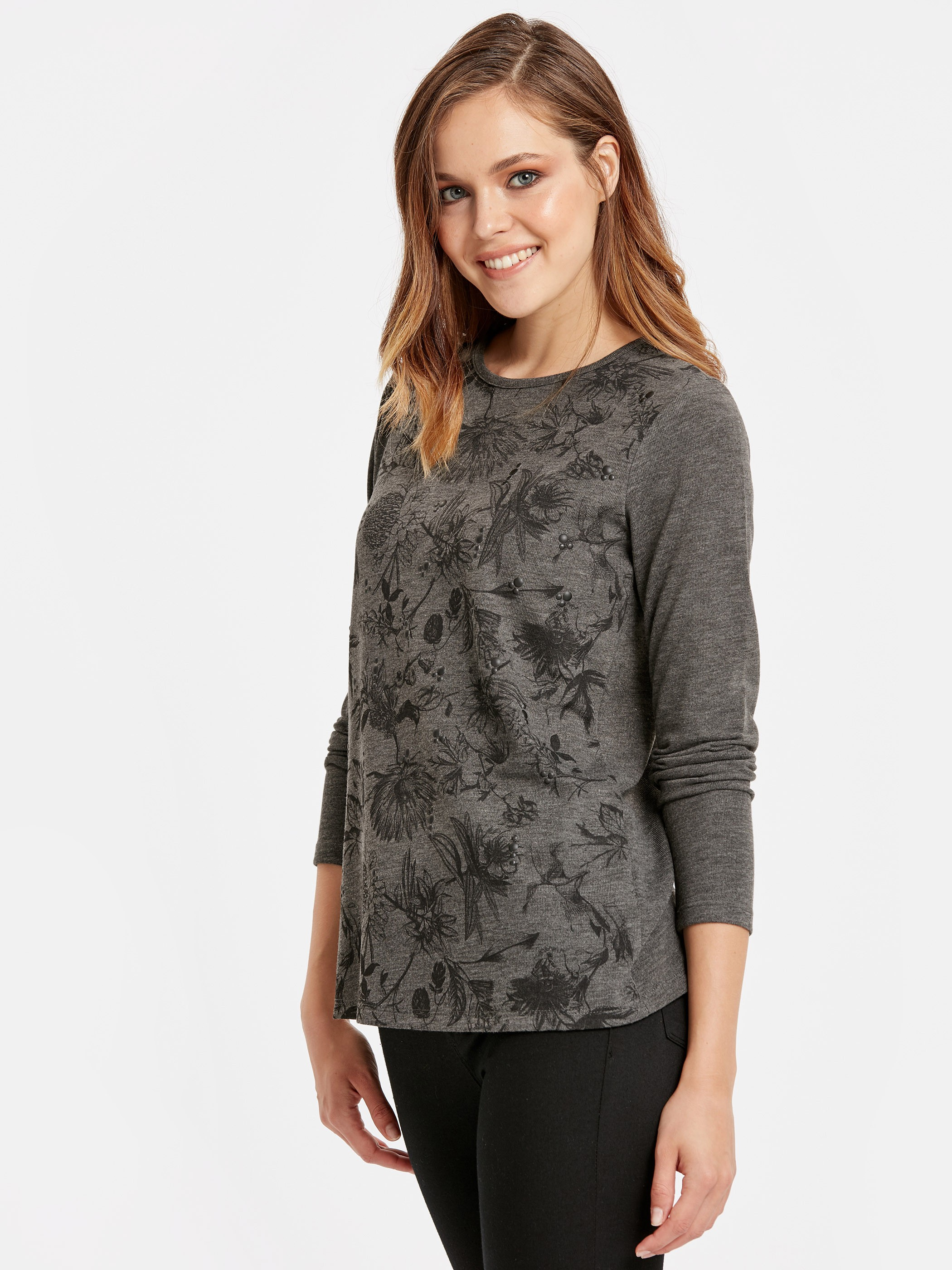 ANTHRACITE - T-Shirt - 8WI828Z8