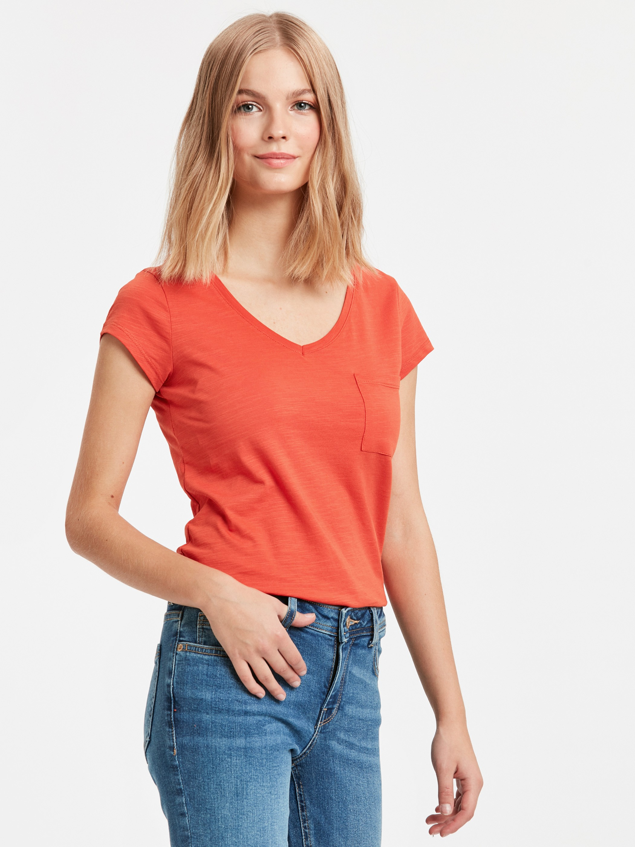 Orange - T-Shirt - 8WJ206Z8