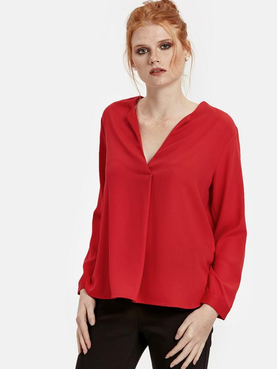 Red - Blouse - 8WJ983Z8