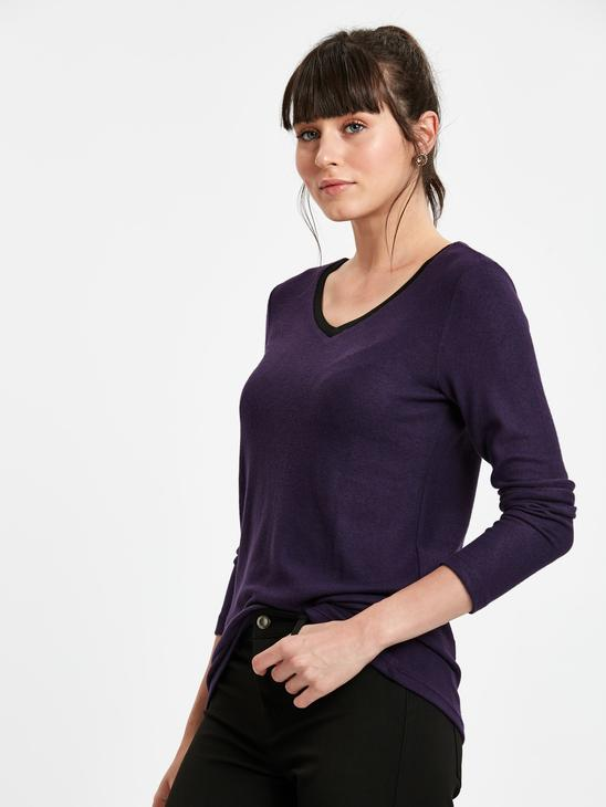PURPLE - T-Shirt - 8W3488Z8