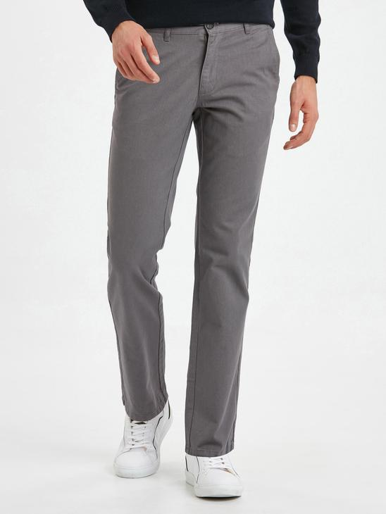 Grey - Trousers - 8W0887Z8