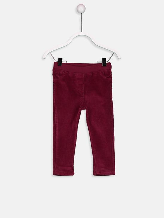 Maroon - Trousers - 8W3809Z1