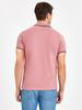 PINK - Polo Neck Basic Short Sleeve Pique T-Shirt - 9W0104Z8