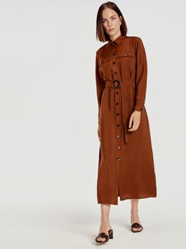 Brown - Dress