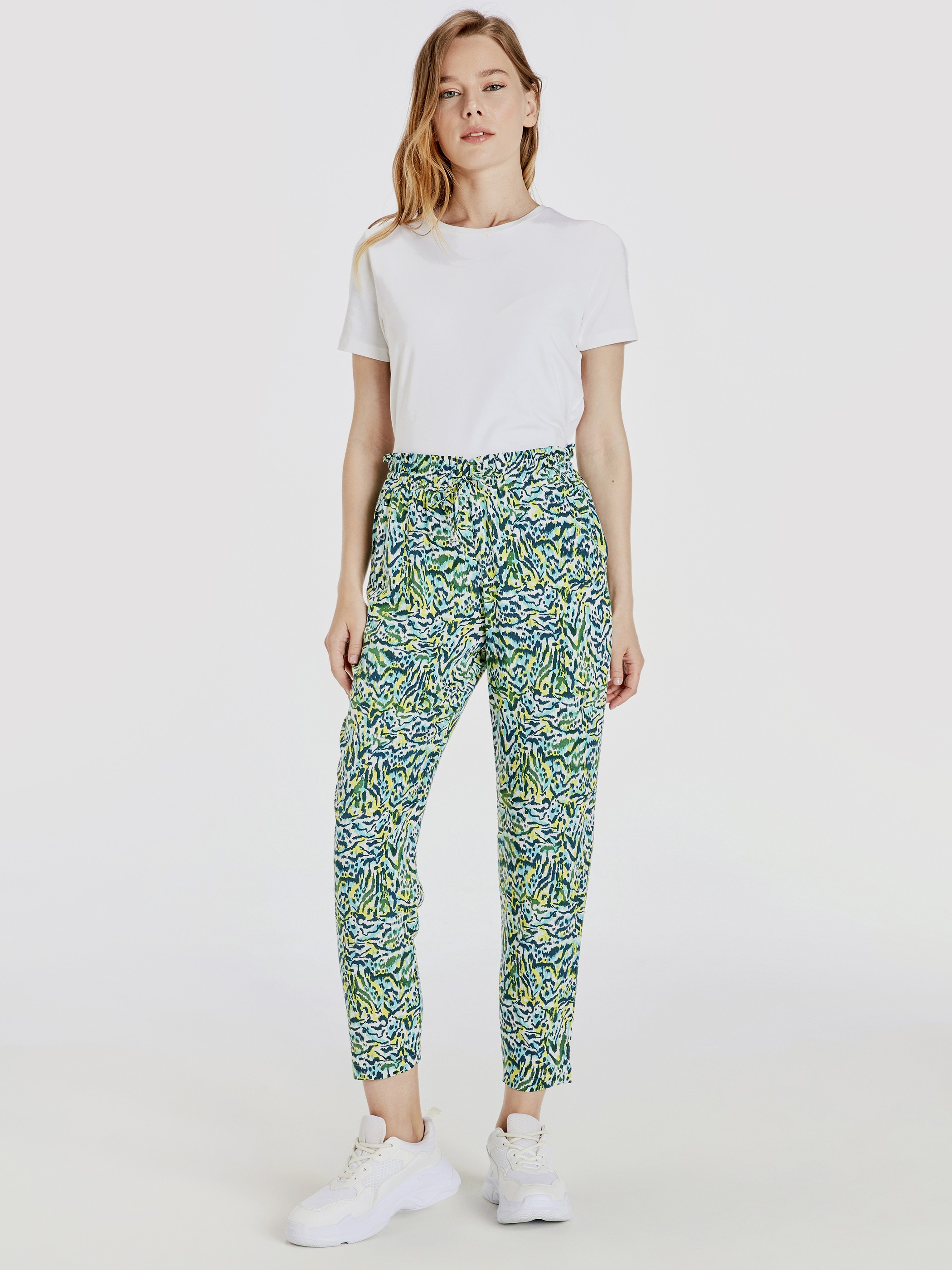 GREEN - Trousers - 9S9885Z8