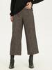 ANTHRACITE - Ankle Length Loose Leg Trousers - 9W9855Z8