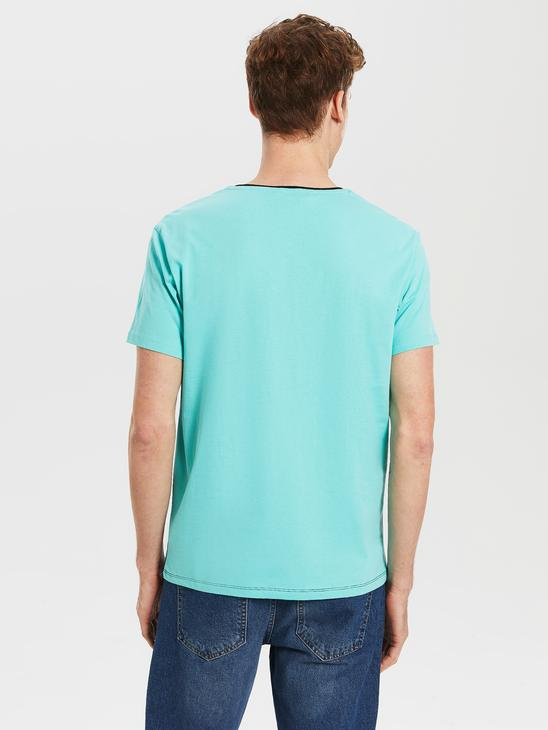 TURQUOISE - T-Shirt - 0S4074Z8