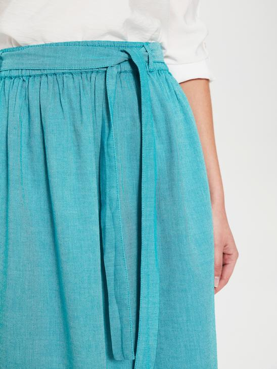 TURQUOISE - Skirt - 0SI807Z8
