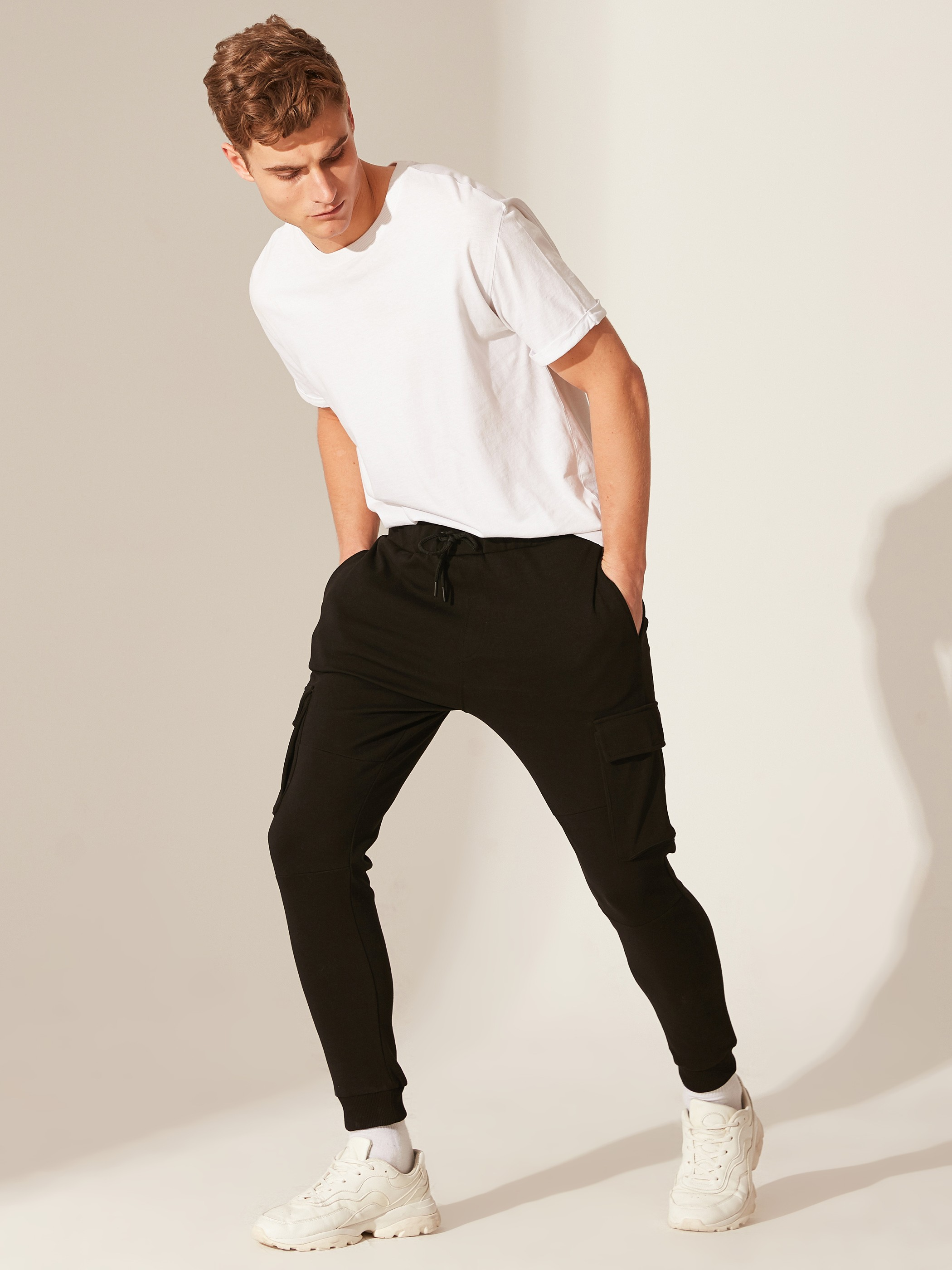 BLACK - Sweatpants - 0SI449Z8