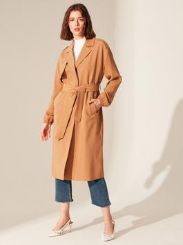 Beige - Trench-Coat
